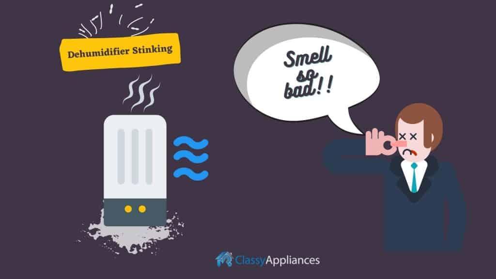 Dehumidifier Stinks so bad