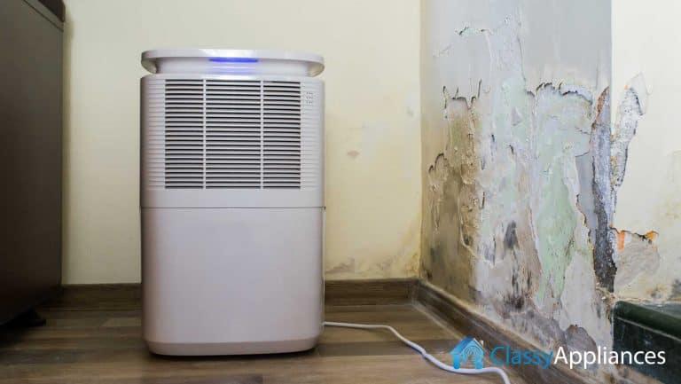 Dehumidifier bad smell problem