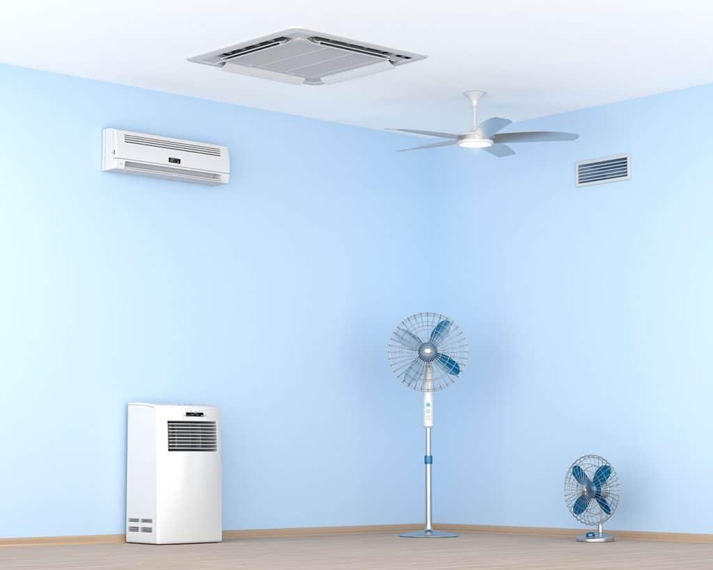 Different Home Appliances Electronics