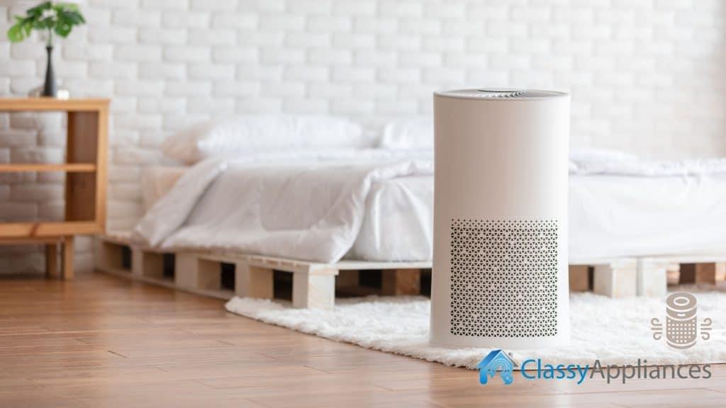 Air Purifier At Bedroom