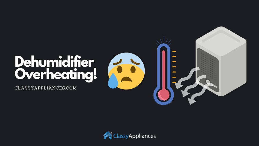 Dehumidifier Overheating Dark Background
