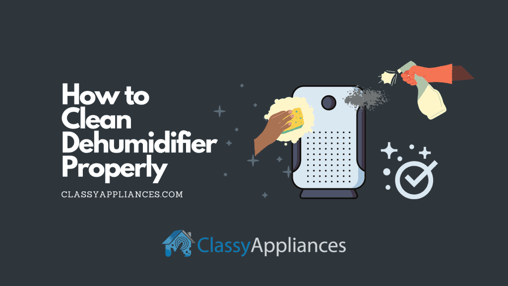 how to clean dehumidifier