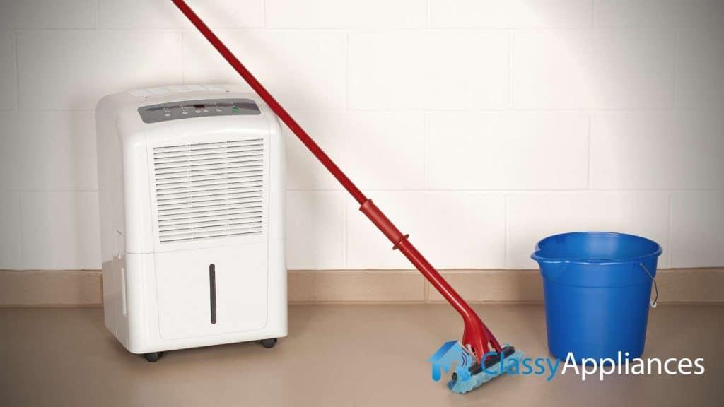 dehumidifier mop and bucket