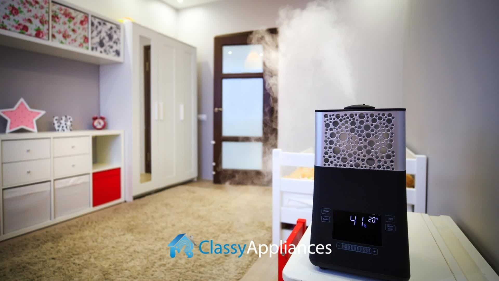 modern air humidifier and cooler